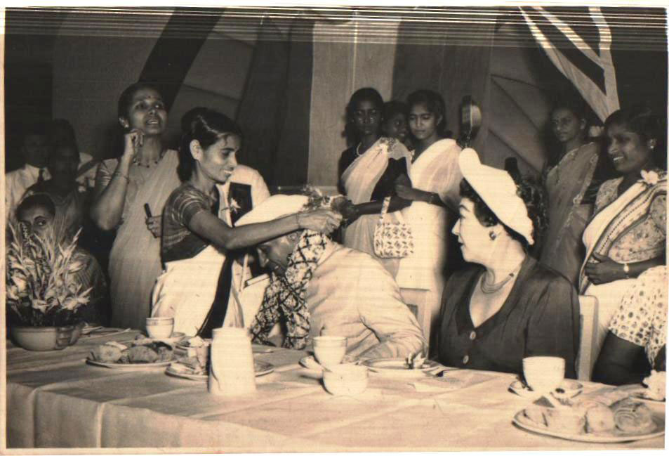 Pandit Jawaharlal Nehru's Visit to the newly formed Kamala Club