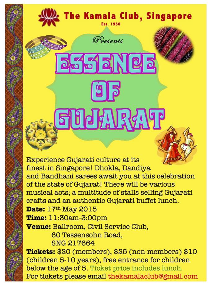 Come and savor authentic Gujarati lunch on May 17