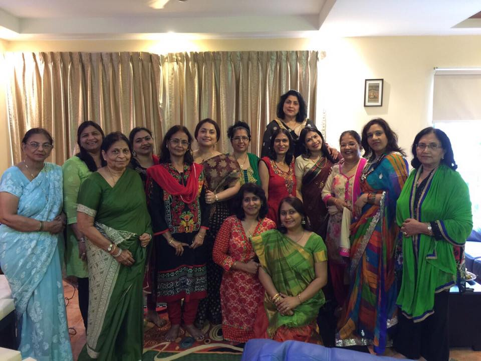 Sargam music session held at Mrs Chitra Gupta's residence on 1st April.